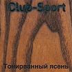 Образец древесины тонированного ясеня